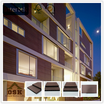 wood plastic composite /environmental high quality wpc wall cladding/for outdoors high quality price wpc wall panel