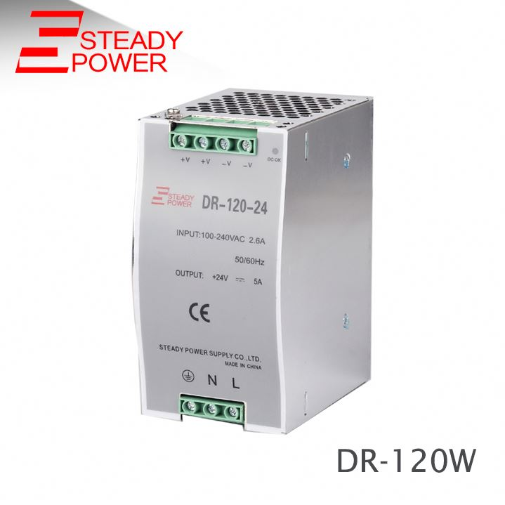 (DR-120-12) Stable DC voltage <strong>source</strong> Din rail 12v 10a switching power supply 120w din rail power supply
