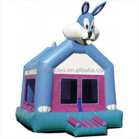 inflatable bouncy castle/wacky rabbit
