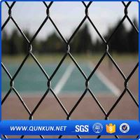 High quality green pvc coated chain link fence best sale in china