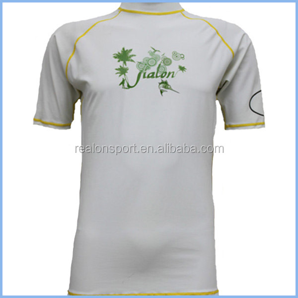 high quality custom sleeveless rash guards