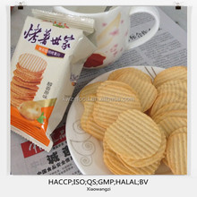 Canned exotic food-- baked potato chips