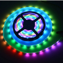 DC12V 5m dream color strip light IP67 waterproof IC SMD 5050 RGB dream magic color LED Strip