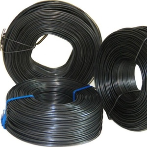 Bwg 14 black annealed wire 30kg roll woven bag inside china factory low price .