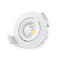 Anti Glare Triac Dimmable CCT Recessed 7W Led COB Downlight