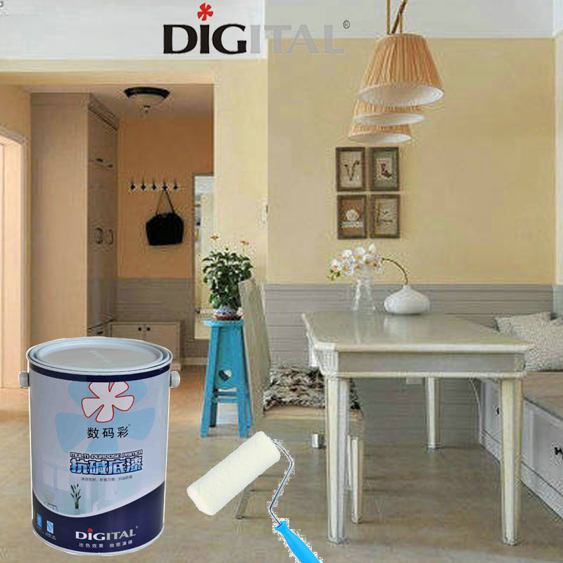 Digital Color Good sealing interior wall primer paint