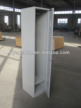 single door clothing cabinet metal dressing room office furniture from china