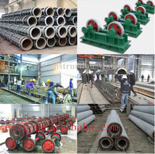 different length cement concrete electrical pole supplier
