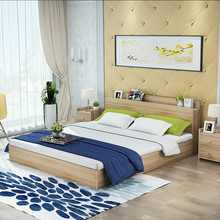 SC0644 Bed room furniture super wooden single bed
