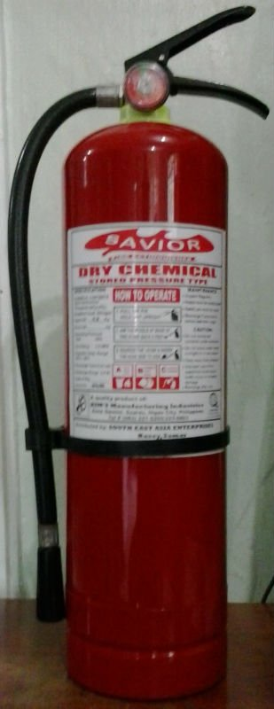 """Savior"" Brand Fire Extinguisher"