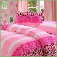 Custom Soft Home Flannel Printed Bedding Set