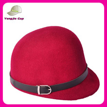 new fashion handmade ladies wool felt hats pattern for sale