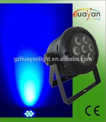 2015 Dealer wanted hot sell 7pcs wash slim par led 64,dj equipment par 64 led