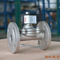 high quality brass ss304 2/2 way normally closed steam solenoid valve 220v
