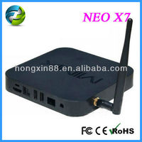 NEW ARRIVAL!!Neo X7 - Quadcore CPU Android TV Box / Ethernet / WiFi / Bluetooth / DLNA (Airplay) / XBMC 720p and 1080p!