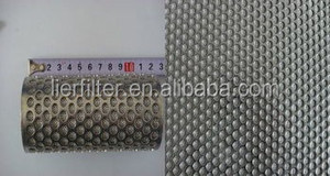 Sintered Stainless Steel Wire Material and Protecting Mesh Application Expanded metal mesh