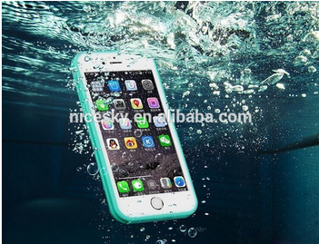 2016 Hot Sell Waterproof Transparent Case For Samsung Galaxy S3/ S4/ S5 /S6/S7 Swimming Clear Soft Back Surfing Hard Phone Cover
