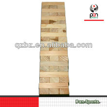 Wooden Tower Block Game Sets OEM China
