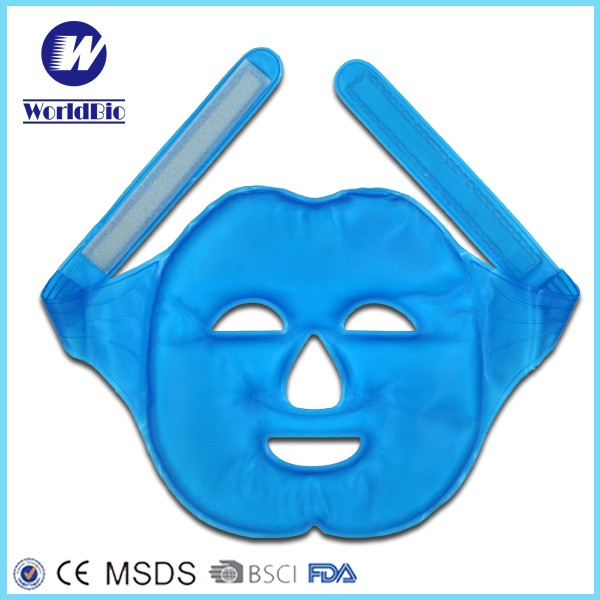 Facial Cooling Gel Ice Reusable Mask For Therapy