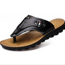 W11282G 2016 New summer men's casual leather sandals men sandals and slippers flip-flops Factory Direct