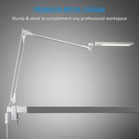 RBT Modern Led Desk Lamp 8W Warm White 6 Steps Touch Dimmer Reading Table Lamp Office Light