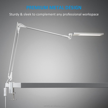 RBT Modern Led Desk Lamp 8W Warm White 6 Steps Touch Dimmer Reading Table Lamp Office Light