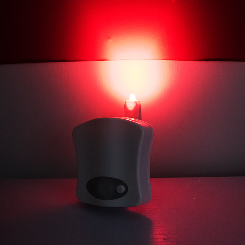 LED toilet night light human body induction LED toilet light with private logo