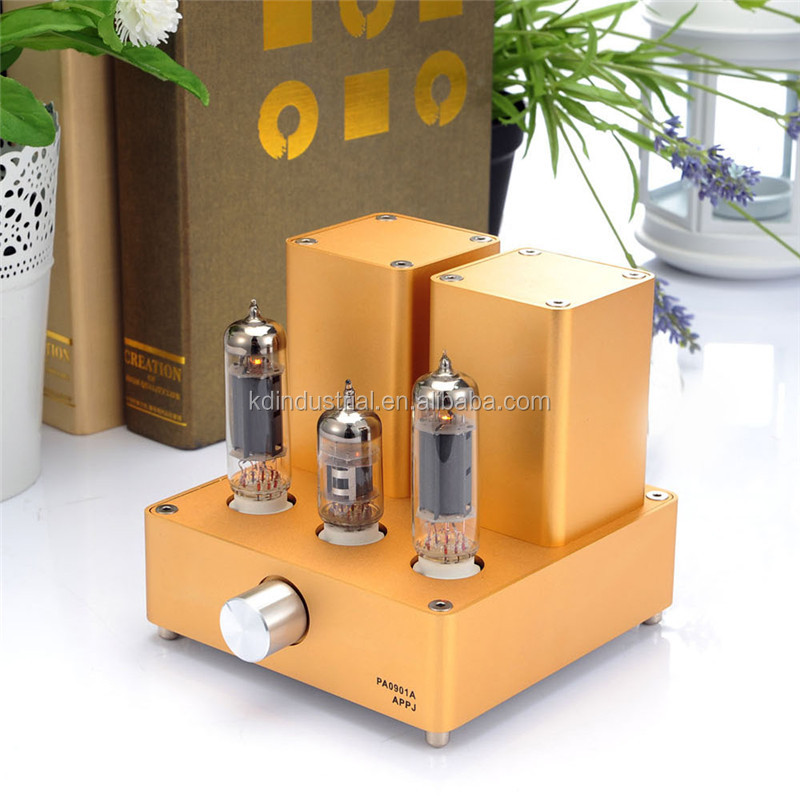 Hifi Stereo Audio Amp EL84 Home Tube Amplifier