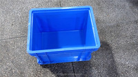 Toyota auto parts storage bins euro standard warehouse use plastic small container