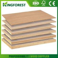 Hot selling mdf core melamine faced plywood with low price