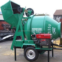 diesel engine drive cement portable concrete mixer for sale with low prices