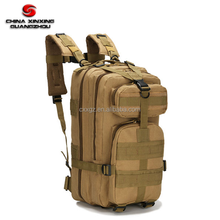 Practical Good Quality Outdoor 3P attack tactical Khaki waterproof walking shoulder bag Backpack