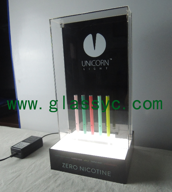 Acrylic E-cigarette <strong>Stand</strong> With Customized LED