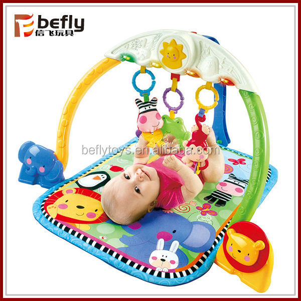 High quality plastic toy baby rattle noise maker