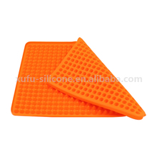 Hot sell high quality fancy silicone floor mat for slip resistant