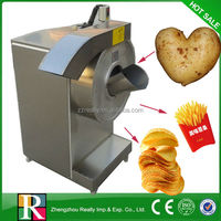 Automatic potato chips and slice 50-300kg/h industrial potato chips cutter