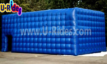 durable storage structure cubic inflatable air tent for event