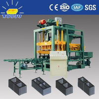 QTJ4-25 promotion earth small scale block making machine concrete and brick making machines