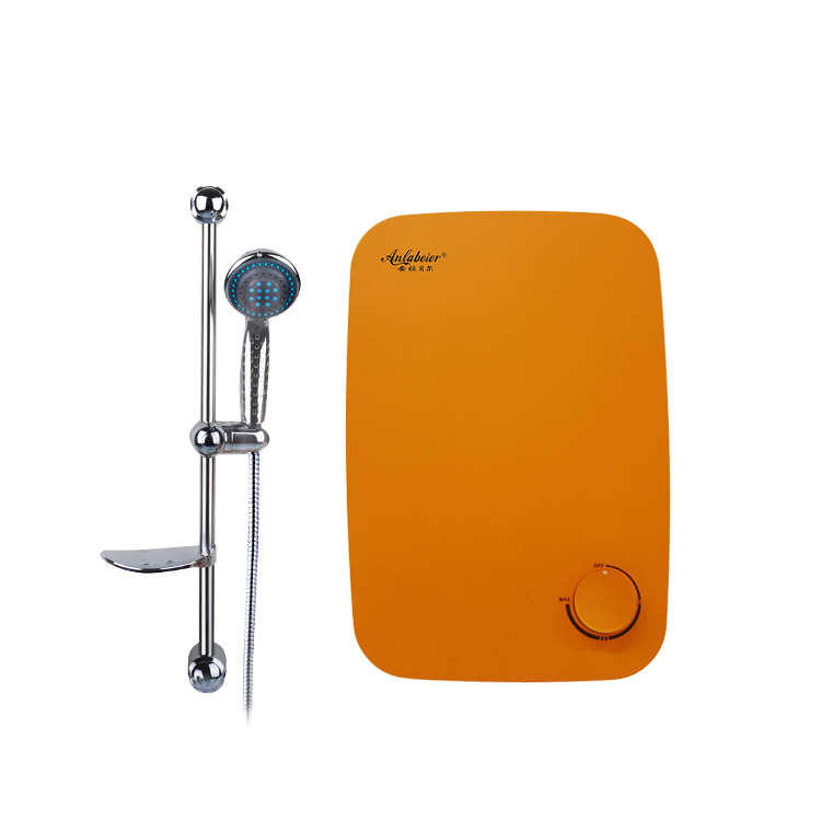 CB&CE Red Copper Stylish With External Digital Volt Grounding Protection portable electric hot tankless water heater
