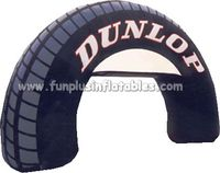 Commercial quality popular design inflatable arch inflatable tire archway P1038(2)