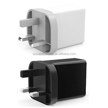 Hot products mini travel charger usb dual usb charger portable usb plug charger for Samsung Galaxy, HTC Nexus Blackberry