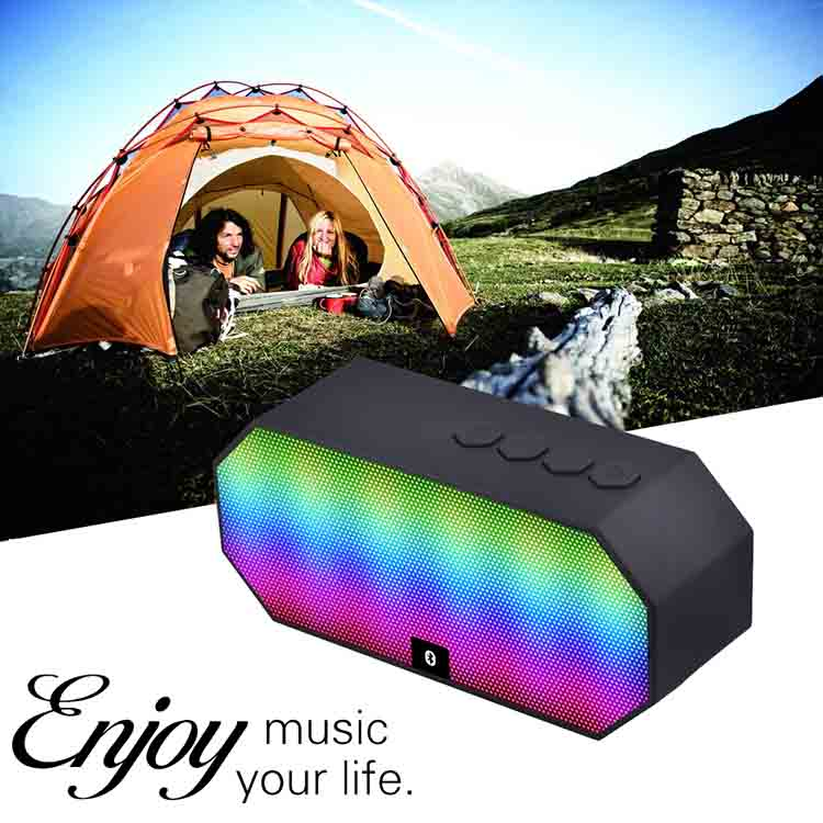 Mini Wireless Bluetooth Speaker BT 801 Mic Waterproof Bicycle Portable Stereo Music