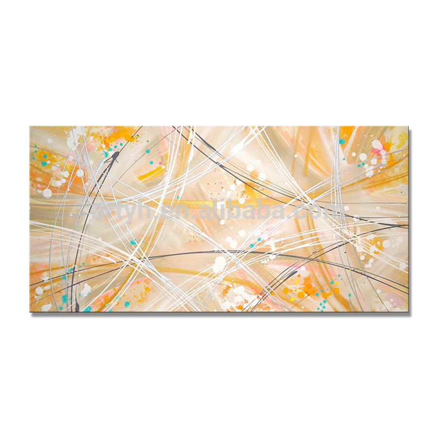Newest Handmade Custom Canvas Abstract Oil Painting Wall Decoration
