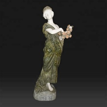 Indian garden life size lifelike marble statue