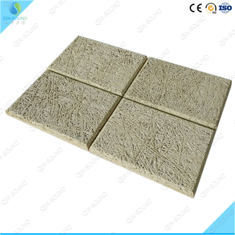 2016 Cinema Project Ineterior Wall Paneling Office/Studio/Home Theater Wood Wool Insulation Board