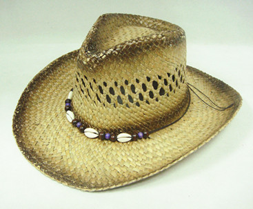 100% natural straw lemmy cowboy hat