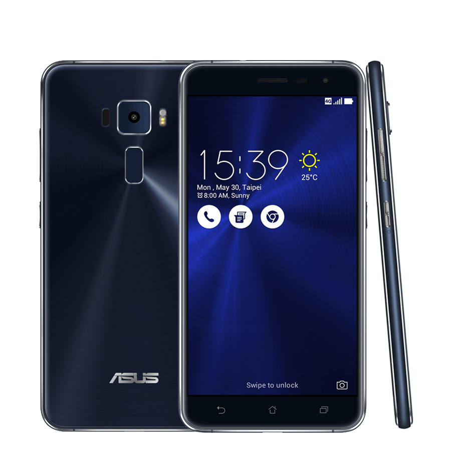 "Original ASUS Zenfone 3 ZE552KL Smart <strong>Phone</strong> 64Bit Octa Core <strong>Android</strong> 6.0 5.5""FHD 4GB RAM 64GB ROM 3000mAh 16.0MP Fingerprint"