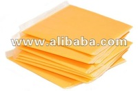 Imitation Processed Cheese in individual wrapped slices