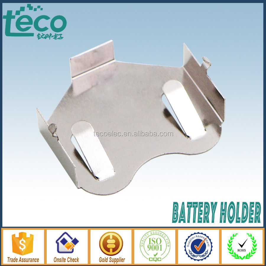 TBH-CR2450-M04 Ningbo TECO DIP Type Coin Cell Holder for CR2450 Battery