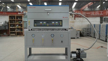 CVD equipment -dual heating zones vucum tube furnace